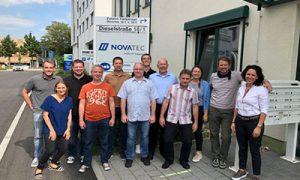 Inhouse Ausbildung bei Novatec